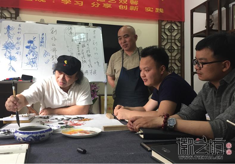 2017.6.3芜湖铁画知行社第八期课程报道11